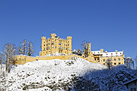 Germany, Bavaria, View of Hohenschwangau castle - SIEF004136