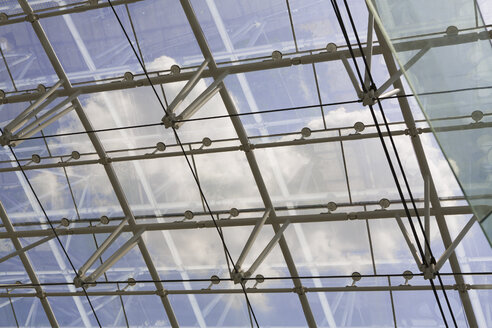 Germany, Hannover, Interior of greenhouse - KFF000096