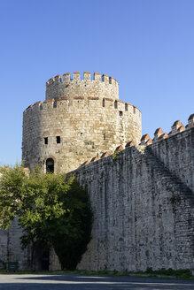 Turkey, Istanbul, View of Yedikule Castle - LH000217