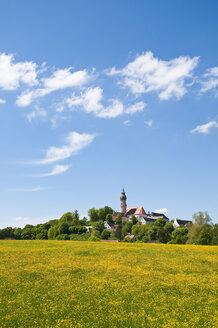 Germany, Bavaria, View of Andechs Abbey - UMF000625