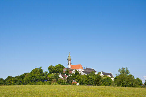 Germany, Bavaria, View of Andechs Abbey - UMF000627