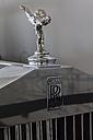 Germany, Bavaria, Emily statue on Rolls Royce - HA000186
