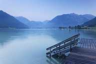 Austria, Tyrol, View of Jetty at Lake Achensee - GFF000194