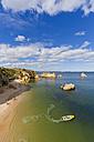 Portugal, Lagos, View of Dona Ana beach - WDF001872