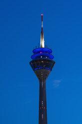 Germany, North Rhine Westphalia, Duesseldorf, Radio tower against sky - KJ000236