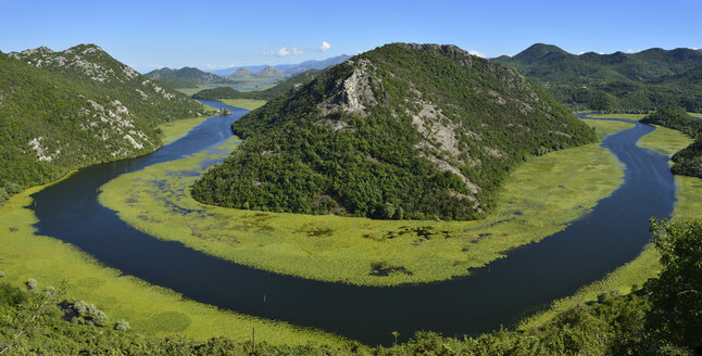 Montenegro, View of Rijeka Crnojevica - ES000471