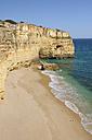 Portugal, Lagos, Faro, View of Praia da Marinha - RUEF001129