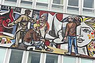 Germany, Berlin, Mosaic at Haus des Lehrers - MIZ000389