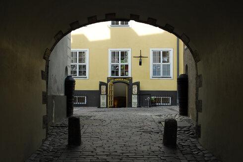Latvia, Riga, Jacob's Barracks at the Swedish Gate - MIZ000351