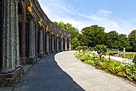 Germany, Bavaria, Franconia, Bayreuth, Hermitage, New Castle and orangery - AM000848