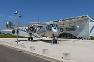 Germany, Baden Wuerttemberg, View of aircraft Dornier Do-31 in front of Dornier Museum - EL000363