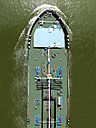 Germany, Rhineland Palatinate, Mainz, Transport vessel for oil - BSC000348