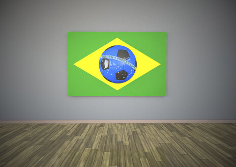 Brasil Blue Football - ALF000082