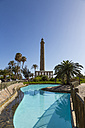 Spain, Gran Canaria, View of lighthouse - MAB000154