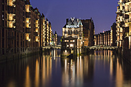 Germany, Hamburg, View of warehouse - NKF000031