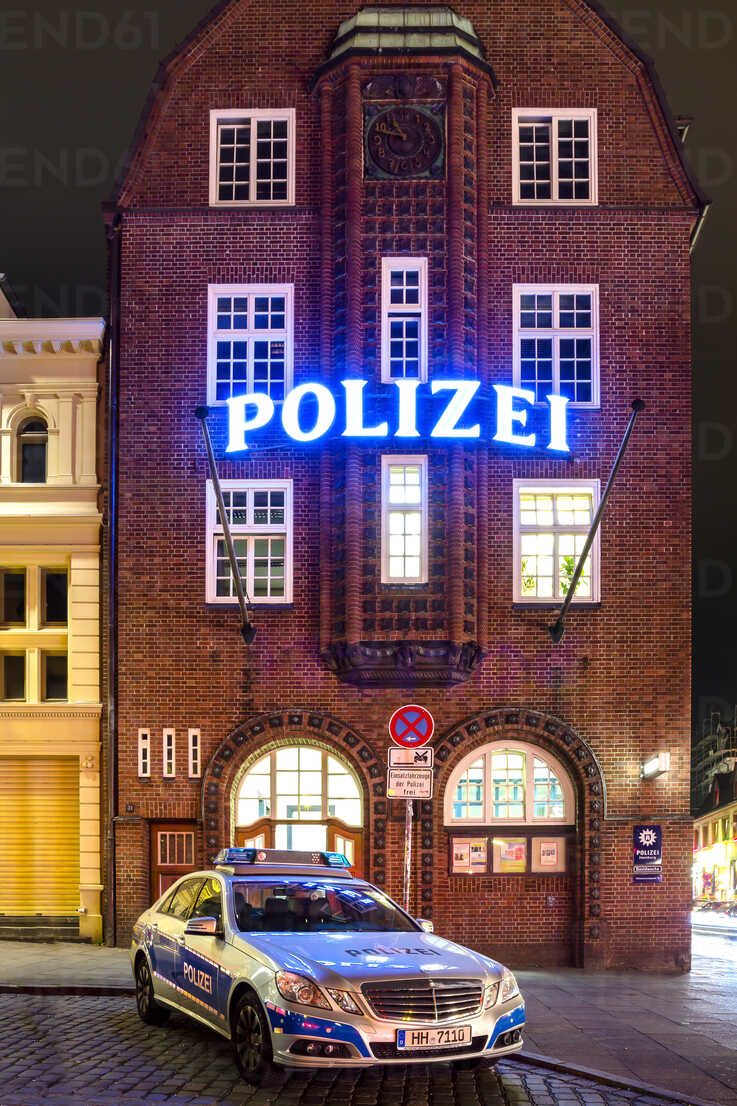Germany, Hamburg, View of Davidwache police station - NK000022 - Stefan Kunert/Westend61