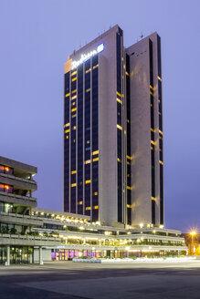 Germany, Hamburg, View of Radison Blue Hotel - NKF000020