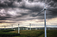 United Kingdom, Scotland, View of wind turbine at Dunbar - SMAF000157