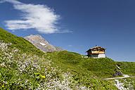 Austria, Mooserboden with peak Kitzsteinhorn - STSF000092