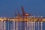 Canada, Port of Vancouver at night - FOF005184
