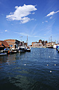 Germany, Mecklenburg Vorpommern, Fisherman pier of Wismar harbour - HOH000214
