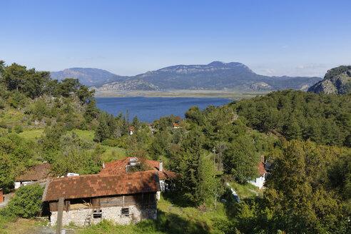 Turkey, View of village near Dalyan - SIEF004302