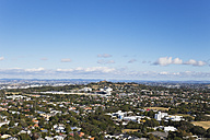 New Zealand, Auckland and One Tree Hill seen from Mount Eden - GW002394