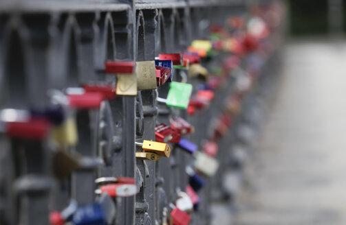 Germany, love locks - JTF000489