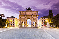 Germany, Bavaria, Munich, Victory Gate - MSF002985