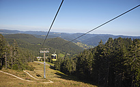 Germany, Baden-Wuerttemberg, Black Forest, cable car to Belchen - DHL000058