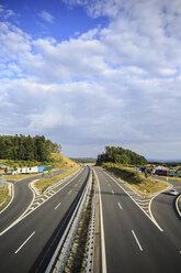 Germany, Bavaria, Coburg, motorway - VTF000023