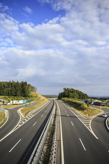 Germany, Bavaria, Coburg, motorway - VTF000023
