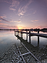 Germany, Lake Ammersee in the Evening Sunset - MBO000017