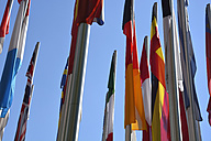 Germany, Munich, flags of European countries - AX000494