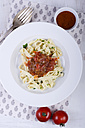 Ribbon noodles with tomato sauce - ODF000443