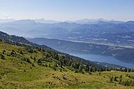 Austria, Carinthia, Nock Mountains, Millstaetter Alpe, view to Millstaetter See - SIEF004368
