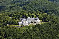 Germany, North Rhine-Westphalia, Petersberg, View of Steigenberger Grandhotel, aerial photo - CS019943