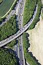 Germany, North Rhine-Westphalia, Bonn, View of highway junction, aerial photo - CSF020009