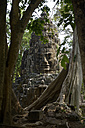 Asia, Cambodia, Siem Reap, Angkor Thom, gate with faces of Bodhisattva - FLK000133