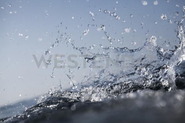 Croatia, Mediterranean Sea, ocean, water splash - FMKF000913