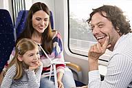 Happy family in a train - KFF000273