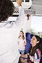 Happy family in a train - KFF000266