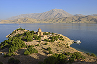 Turkey, Van province, Akdamar Island, Van Lake, Akdamar Island, Church of the Holy Cross - ES000547