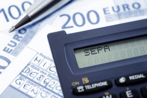 SEPA credit transfer, detail - GO000001