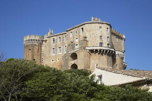 France, Drome, Castle Suze-la-Rousse - DHL000076