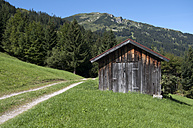 Austria, Tyrol, mountain hut near by Tannheim - OD000535