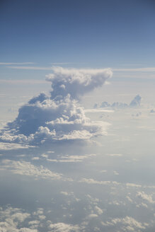 Cloudscape above the Mediterranean Sea - STB000066