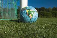 Soccer ball on grass - TCF003579