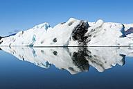 Iceland, Austurland, Jokulsarlon Glacial Lagoon near Vatnajokull National Park - STSF000155
