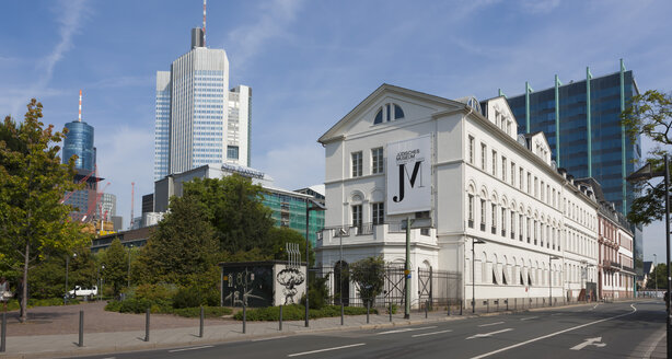 Germany, Hesse, Frankfurt, view to Jewish Museum - AM000980